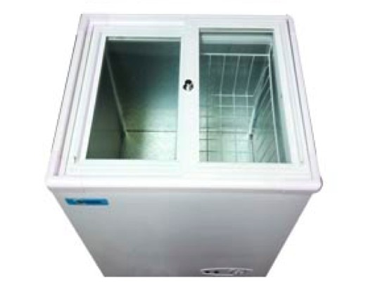 Congeladora Horizontal 100 Lts Tapa de Vidrio