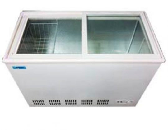 Congeladora 250 Lts Tapa Vidrio