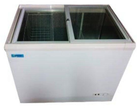 Congeladora 350 Lts Tapa Vidrio