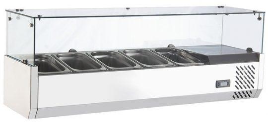 Salsera Refrigerada 5 Depósitos