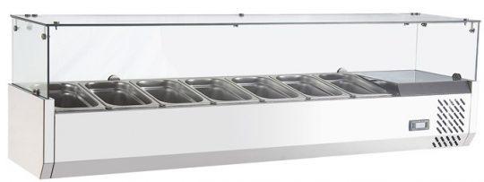 Salsera Refrigerada 7 Depósitos