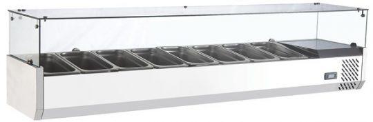 Salsera Refrigerada 8 Depósitos