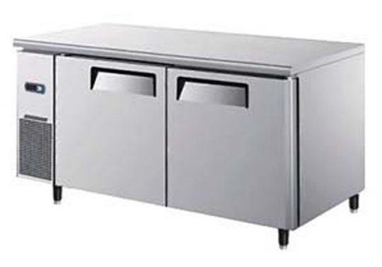 Mesón Refrigerado 2 Puertas de Metal 150 cms. 240 lts.