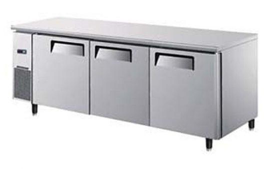 Mesón Refrigerado 3 Puertas de Metal 180 cms. 380 lts.